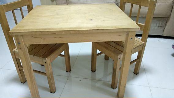 Ikea兒童桌連椅 50x59cm,高50cm
