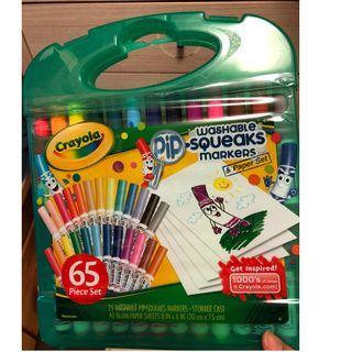 全新 Crayola Pip-Squeaks Washable Markers & Paper Set