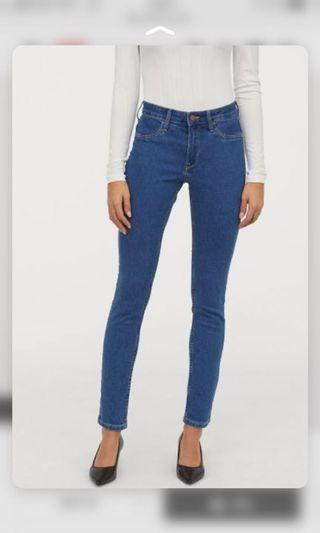 H&M'skinny ankle jeans