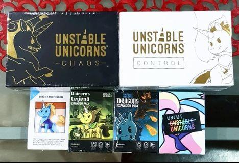 Unstable Unicorn Chaos & Control + NSFW expansion pack