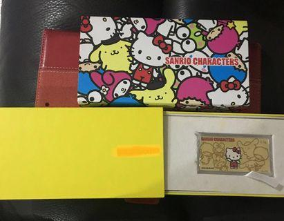 BNIP - Hello Kitty Goldcoin $88 weight is 0.2 OR Goldbar $138 weight is 0.5 OR Twinstars design same price