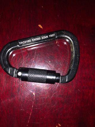 🚚 D lock carabiner