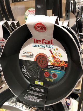 Tefal Super Cook Plus 24cm deep frying pan 特福24cm易潔深煎鍋