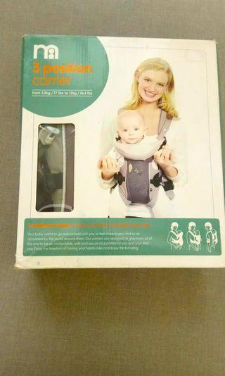 Baby carrier merk mothercare