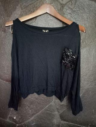 Sale Crop Tee sequin