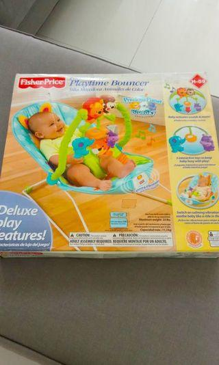 Baby bouncer merk fisher price