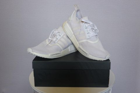 6e3e52d068a97 Adidas NMD R1 Triple White Japan
