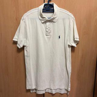 SALE Polo Ralph Lauren White Polo Shirt AUTHENTIC