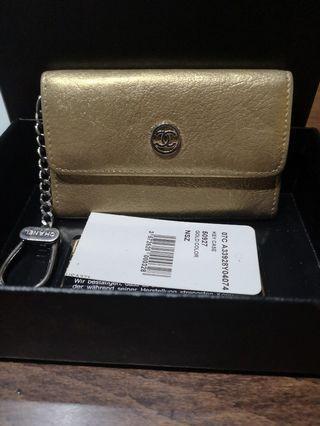 Cheapest $290! Full Set LN Chanel Card/Key Holder