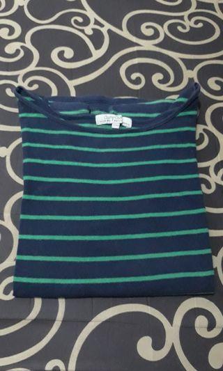 Green Stripes Top