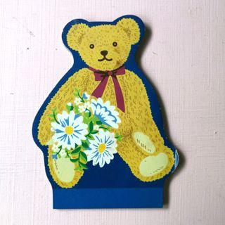 已絕版 Sanrio Billy's Bear Memo Pad 便條紙 1996年 日本製 Made in Japan 中古