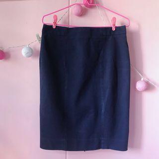 Gap Navy Blue Skirt