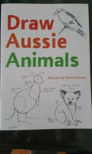Drawing Aussie animals ( good condition )