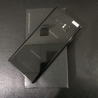 Samsung Note 8 Singel Sim Black Fullset