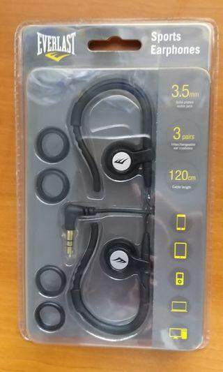 Sports Earphones ( Everlast brand )