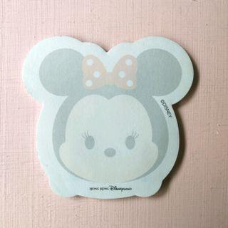 香港迪士尼樂園 HK Disneyland Minnie 米妮 Tsum Tsum memo pad 黏貼便利貼