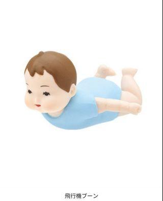 (不設郵寄) Kitan Club 赤子 初生BB扭蛋 飛行機款 有蛋纸
