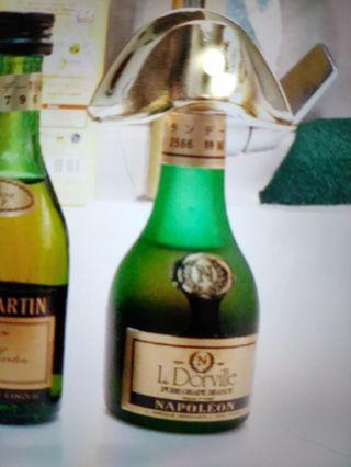 陳年拿破仑白白蘭地酒辦一支。