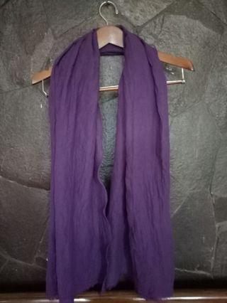 Pashmina ungu bangkok