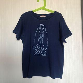 Hush Puppies Blue Tshirt