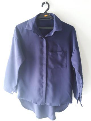Candy Blouse (Dark Blue)    #Style