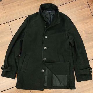 URBAN RESEARCH 黑 立領 大衣 外套 正裝 休閒 東京購入 38 S