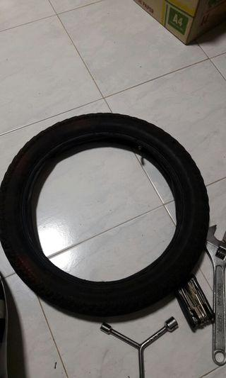 "ebike 16"" 2.50 Tyre and tube"