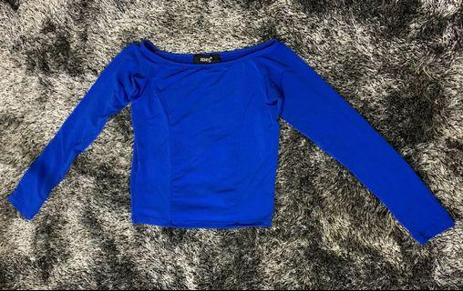 Meg semi off-shoulder cute top - Fits XS-S body frame, never used