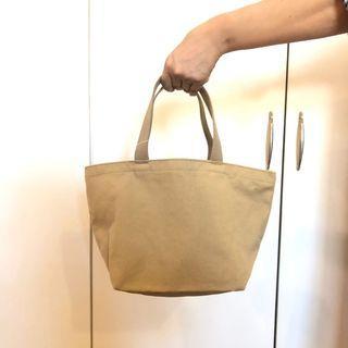 Muji Khaki Canvas Bag