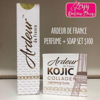 Ardeur De France Set (Perfume+Soap)