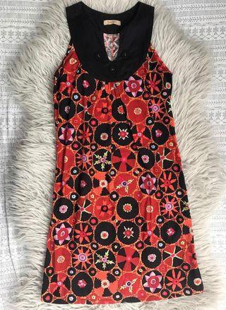 #ChangeTheCycle #ChangewithKimi Juana Orange Printed Dress