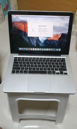 """#09 Macbook pro 13"""" mid 2009 4GB 320GB HDD"""