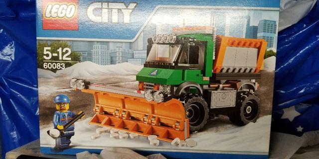 Lego 60083 城市系列 CITY 鏟雪車