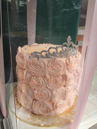 """Rose cake 6"""""""