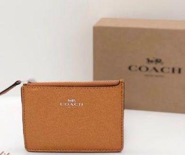 Coach mini ID wallet