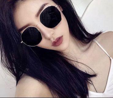 🚚 💲1️⃣9️⃣9️⃣新款輕巧不規則情侶款復古風太陽眼鏡金屬墨鏡