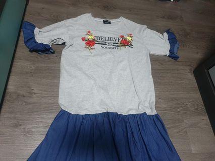 🚚 Denim cotton dress