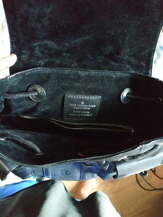 Backpack Supreme Leather Black