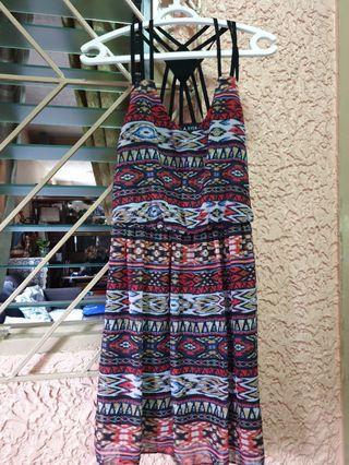 Summer strappy dress