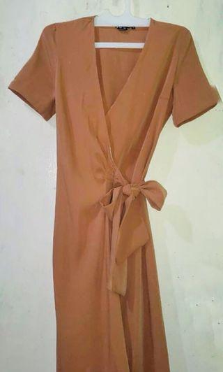 Midi Dress Brown Sugar