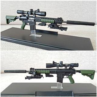 [4x Free Grenade]L129A1 Rifle by Green Wolf Gear & Easy & Simple [1/6 GWG 002 / phicen / TBLeague / Hot Toys / Kitbash / Diorama / M4 / Gun / Sniper]