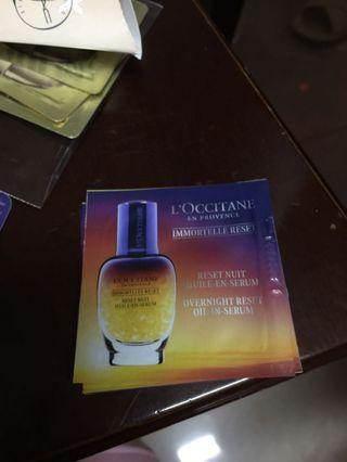 Loccitane Oil-in-Serum 1ml