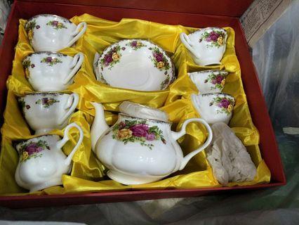 Vintage Fine Porcelain Tea Set