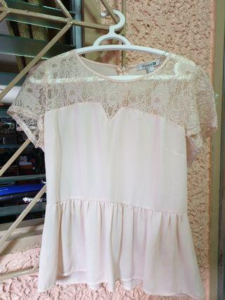 Forever21 F21 lacy blouse