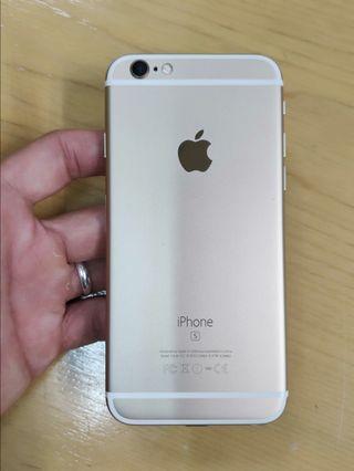 🚚 Iphone 6s 64gb gold