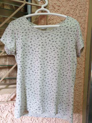 Floral pattern tshirt