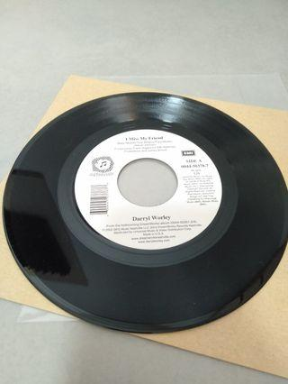 "Darryl Worley 7"" White Label EP Vinyl Lp Record"