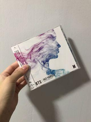 wts bts face yourself japan album