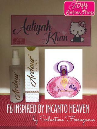 """ARDEUR F6 """"Insouciante"""" - Inspired by Incanto Heaven 60ml"""