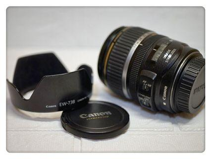[平價出售] Canon EFS 17-85mm F4-5.6 IS USM 防手震鏡頭